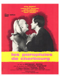 The Umbrellas of Cherbourg, French Movie Poster, 1964 Giclée-Premiumdruck