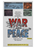 War and Peace, 1956 Pôsters