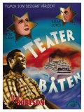 Show Boat, Swedish Movie Poster, 1936 ポスター