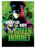 The Green Hornet, UK Movie Poster, 1966 Poster