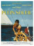 Purple Noon, French Movie Poster, 1964 Giclée-Premiumdruck