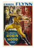 The Adventures of Robin Hood, UK Movie Poster, 1938 Pôsters