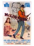 McLintock, Italian Movie Poster, 1963 高画質プリント