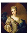 Portrait of Charlotte Aglae of Orleans, 1720S Giclee Print by Pierre Gobert