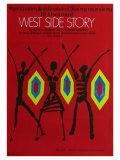 West Side Story, Polish Movie Poster, 1961 Prints