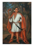 Etow Oh Koam, King of the River Nations, 1710 Giclée-Druck von Johannes Verelst