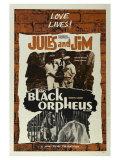 Jules and Jim, 1961 Giclée-Premiumdruck