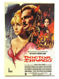 Doctor Zhivago, Spanish Movie Poster, 1965 高画質プリント