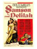 Samson & Delilah, 1949 Premium gicléedruk