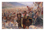 Ancient Warriors Giclee Print by Georges Marie Rochegrosse