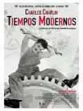 Modern Times, Spanish Movie Poster, 1936 Plakater