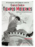 Modern Times, Spanish Movie Poster, 1936 Print