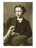 Portrait of Lewis Carroll, 28th March 1863 Giclee Print by Oscar Gustav Rejlander
