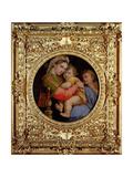 The Madonna of the Chair Reproduction procédé giclée par  Raphael