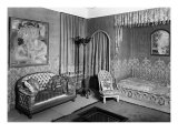 Bedroom Belonging to Jeanne Lanvin Giclee Print by Armand Albert Rateau