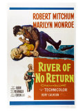 River of No Return, 1954 Posters