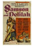 Samson & Delilah, 1949 Poster