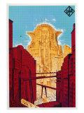 Metropolis, German Movie Poster, 1926 Poster
