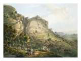 The Town of Abha in Abyssinia, engraved by J. Bluck Giclee Print by Henry Salt