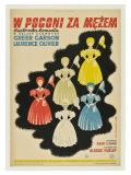 Pride and Prejudice, Polish Movie Poster, 1940 ポスター