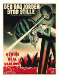 The Day The Earth Stood Still, Danish Movie Poster, 1951 Prints