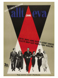 All About Eve, Swedish Movie Poster, 1950 Pôsters