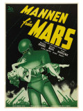 The Day The Earth Stood Still, Swedish Movie Poster, 1951 Prints