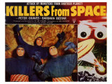 Killers from Space, 1954 Poster