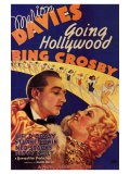Going Hollywood, 1933 Plakater