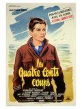 Les quatre cents coups, film de François Truffaud, 1959 Affiches