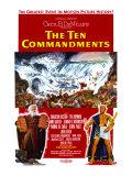The Ten Commandments Premium Giclee-trykk