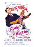 Love and Kisses, 1965 Premium Giclee-trykk