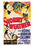 Stormy Weather, Swedish Movie Poster, 1943 Art