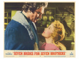 Seven Brides for Seven Brothers, 1954 ポスター