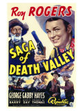 Saga of Death Valley, 1939 Posters