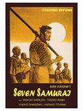 Seven Samurai, Italian Movie Poster, 1954 Posters