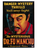 Mysterious Dr. Fu Manchu, 1929 Pósters