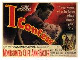 I Confess, 1953 Premium gicléedruk
