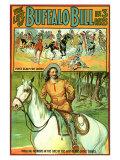 The Life of Buffalo Bill, 1912 Premium Giclee-trykk