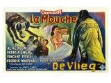 The Fly, Belgian Movie Poster, 1958 Plakat