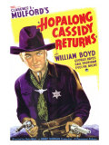 Hopalong Cassidy Returns, 1936 Pôsters