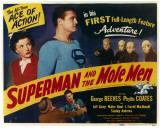 Superman and the Mole Men, 1951 ポスター