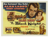 The Black Knight, UK Movie Poster, 1954 Plakater