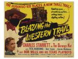 Blazing the Western Trail, 1945 Prints