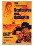 The Searchers, Spanish Movie Poster, 1956 ポスター