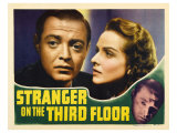 Stranger on the Third Floor, 1940 Pósters