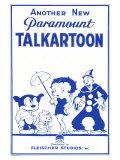 Talkartoon, 1931 Kunstdruck