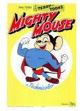 Mighty Mouse, 1943 Print