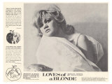Loves of Blonde, 1967 ポスター