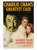 Charlie Chan's Greatest Case, 1933 Póster